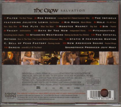 Salvation Cover (Back)